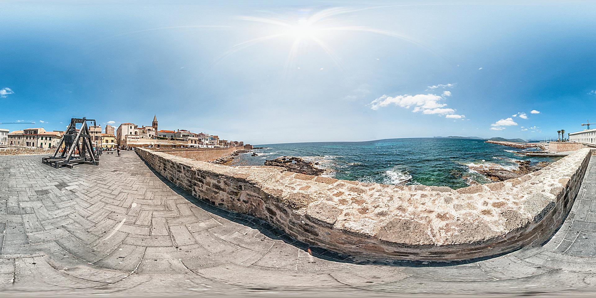 Sardinien Alghero Altstadt