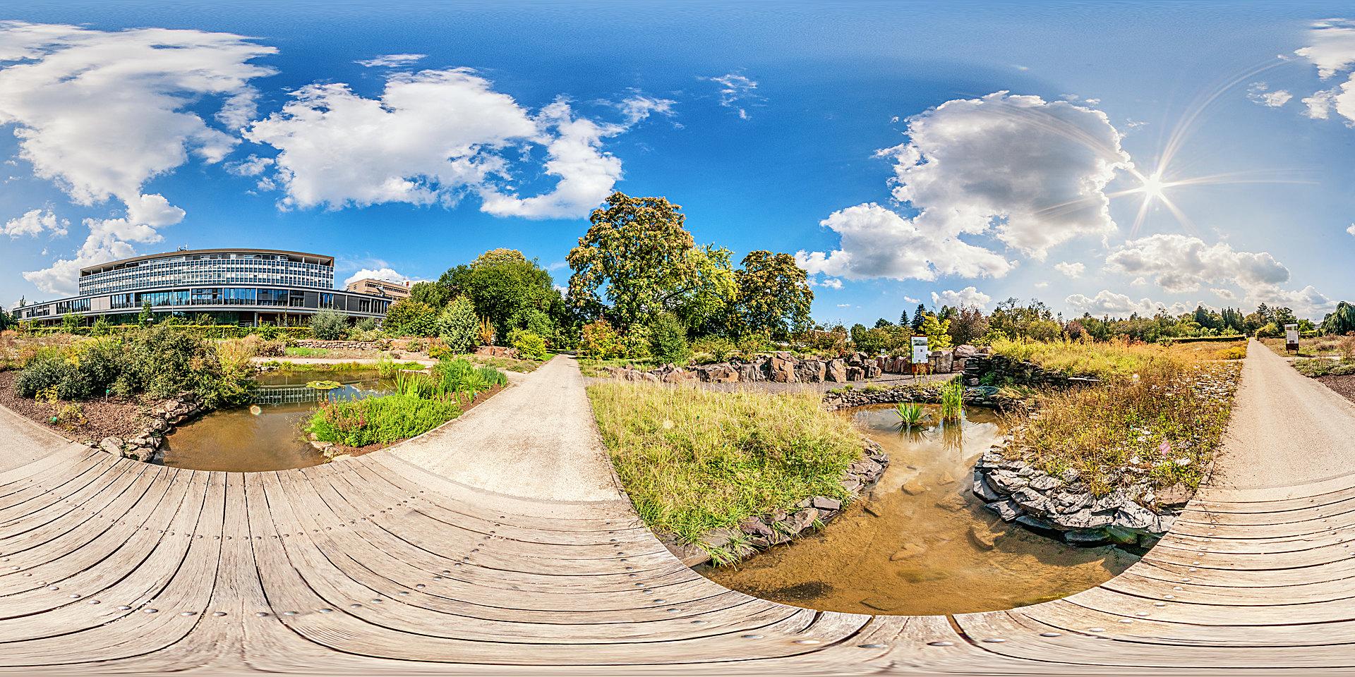 Botanischer Garten Mainz - Freiland