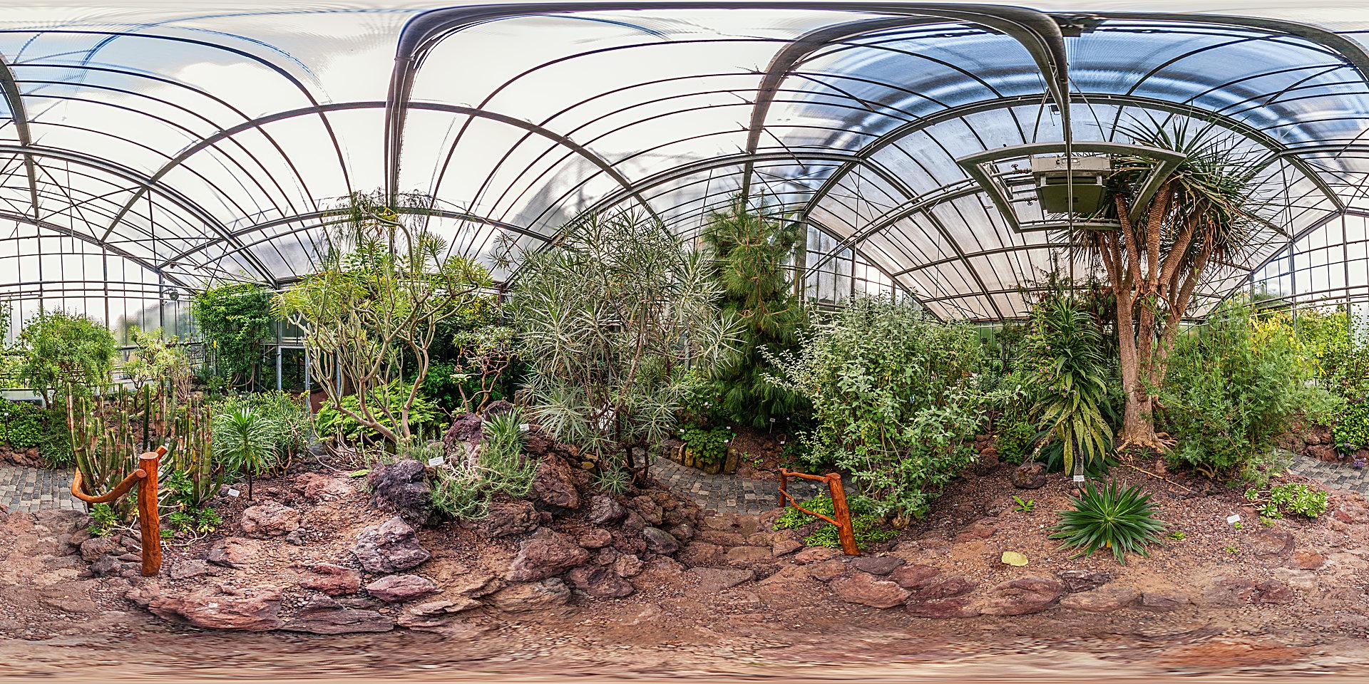Botanischer Garten Marburg - Gewächshäuser