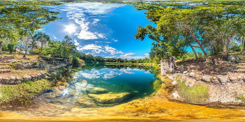 Cenote Chen-Ha bei Mérida, Yucatán