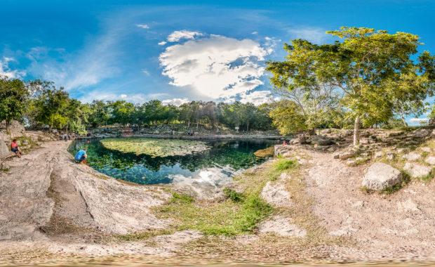 Cenote Xlakah - Dzibilchaltún