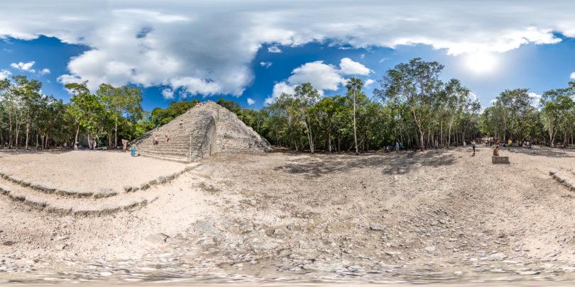 Archäologische Maya-Stätte von Cobá in Mexiko