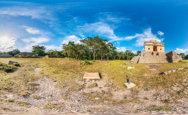 Mayaruine Dzibilchaltún, Mexiko