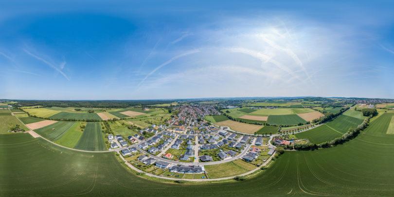 Gundernhausen Luftaufnahme - Roßdorf