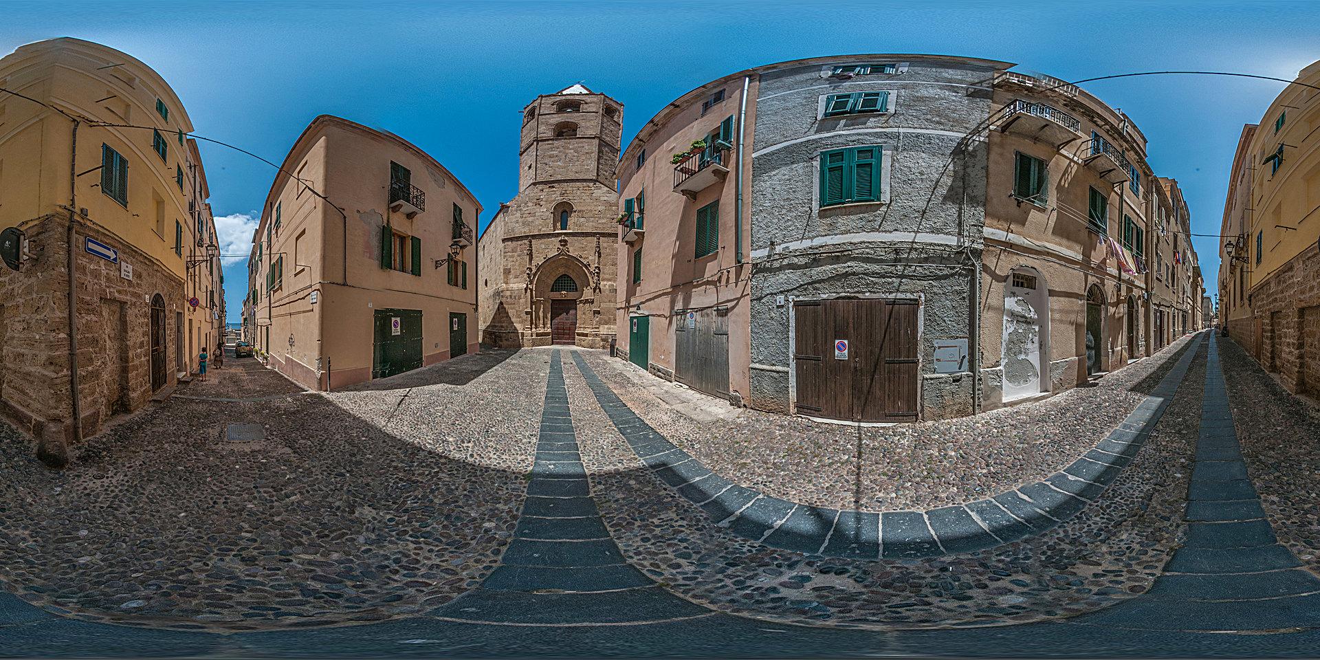 Sardinien, Alghero: Kathedrale Santa Maria