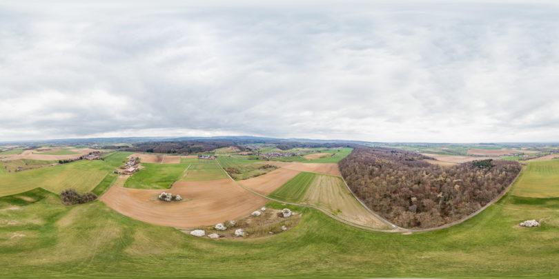 Luftaufnahme Reinheim
