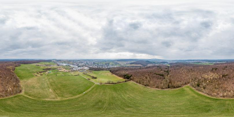 Roßdorf Luftaufnahme