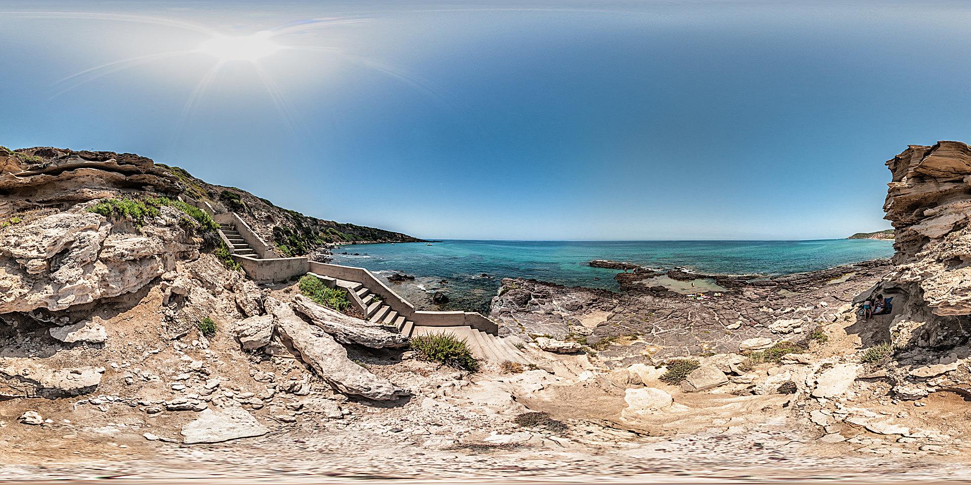 Sardinien Strand Scogli Forani
