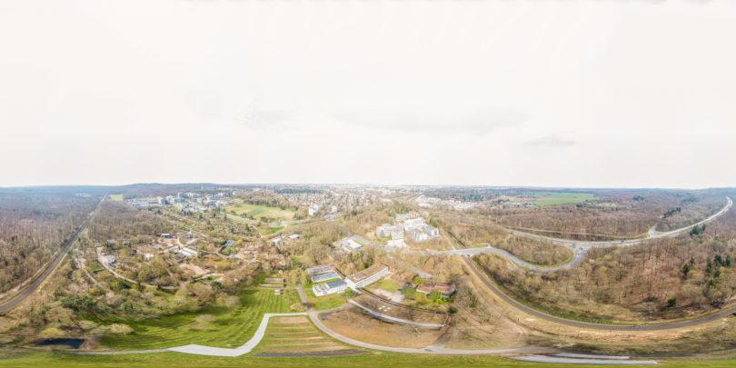 Vivarium Darmstadt Luftaufnahme